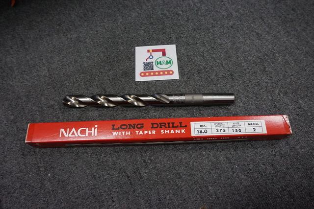 テーパーシャンクドリル 不二越(NACHI) SKH51シリーズφ18.0_画像1