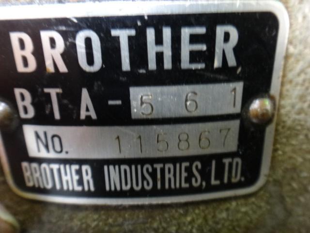 タッピング盤 ブラザー BT0-263_画像4