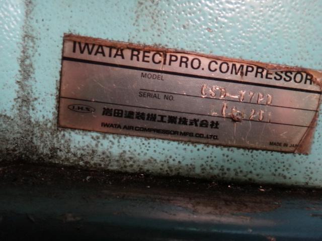 3,7KWコンプレッサー 岩田 CSD-37PD_画像6