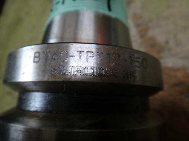 タップホルダー 黒田 BT40-TPT12-150_画像3