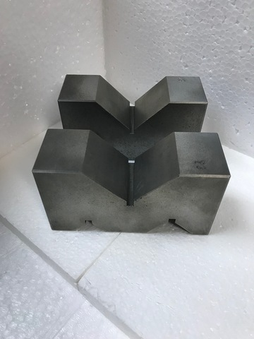 A型Vブロック 機械仕上 125mm_画像2