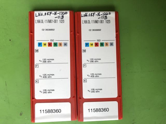 チップ サンドビック L166.0L-11VM01-001 1020_画像2
