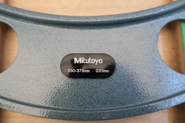 マイクロメーター ミツトヨ OM-350∼375_画像2