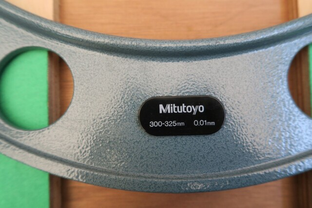 マイクロメーター ミツトヨ OM-300~325_画像4