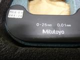ネジマイクロメーター ミツトヨ TMS25(M2)_画像3