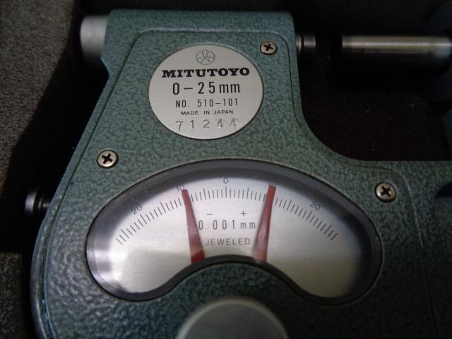 指示マイクロメーター ミツトヨ IDM-25_画像2