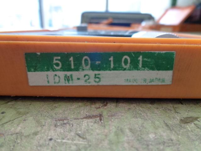 指示マイクロメーター ミツトヨ IDM-25_画像3