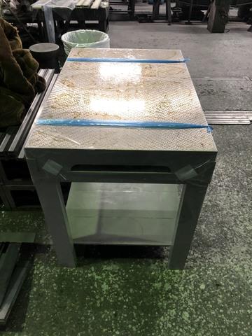 箱型定盤架台付 ユニセイキ 研磨仕上 600x900mm_画像4