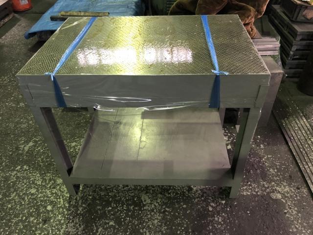 箱型定盤架台付 ユニセイキ 研磨仕上 600x900mm_画像6