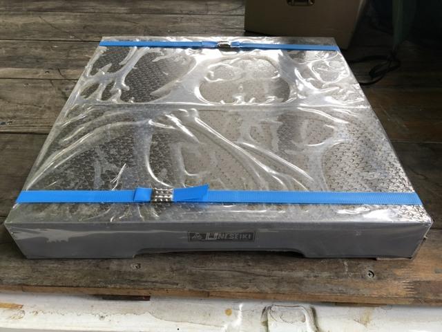 箱型定盤 研磨仕上 ユニセイキ 450x450mm_画像1