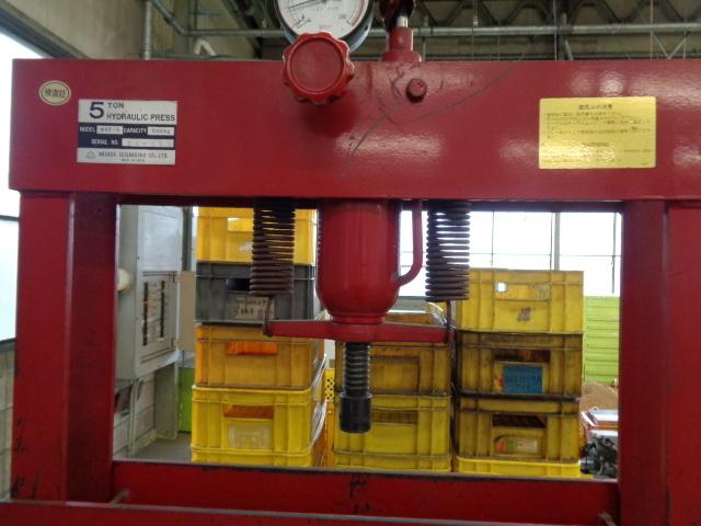油圧プレス  MHP-5_画像2