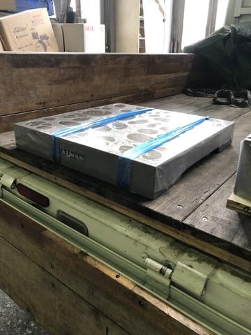 箱型定盤 研磨仕上 ユニセイキ 500x500mm_画像2