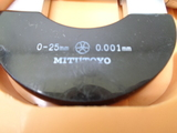 ミクロンマイクロメーター ミツトヨ OMM-25_画像2