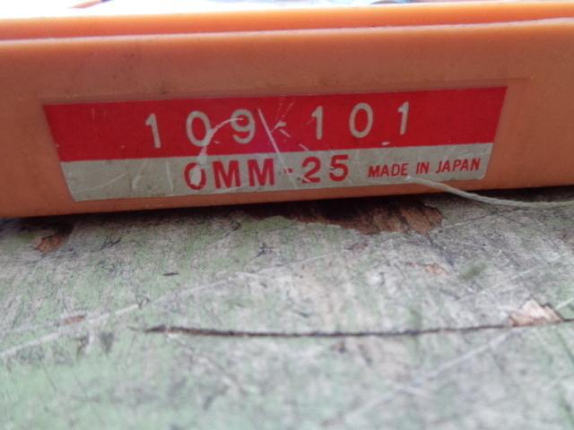 ミクロンマイクロメーター ミツトヨ OMM-25_画像3