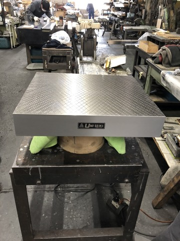 箱型定盤 研磨仕上 ユニセイキ 400x450mm_画像1
