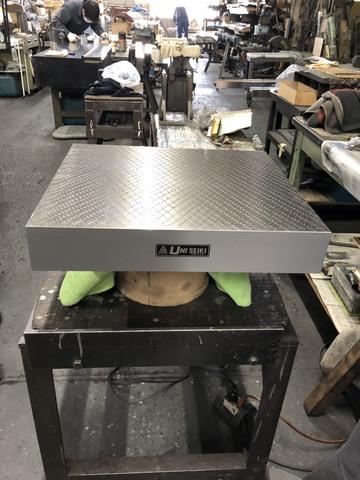 箱型定盤 研磨仕上 ユニセイキ 400x450mm_画像2