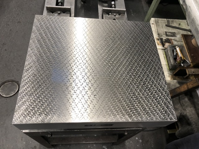 箱型定盤 研磨仕上 ユニセイキ 400x450mm_画像3