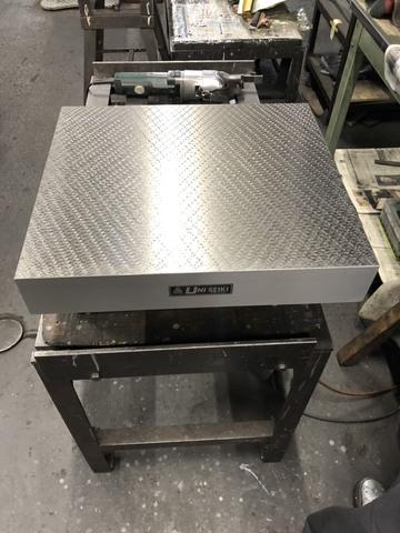 箱型定盤 研磨仕上 ユニセイキ 400x450mm_画像4