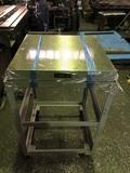 箱型定盤架台付 ユニセイキ 研磨仕上 600x600mm