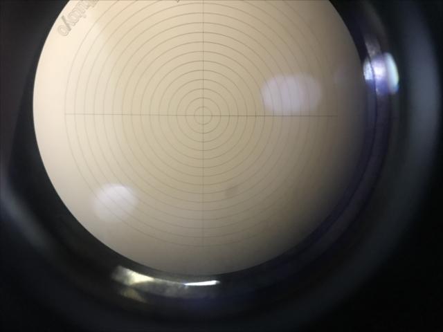 ミツトヨ 芯出し顕微鏡 375-101(CF10) A129571 C棟10I-03-04_画像4