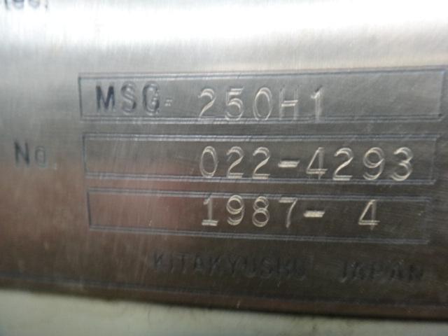 成型研削盤 三井精機 MSG-250H-1 1987年式_画像5