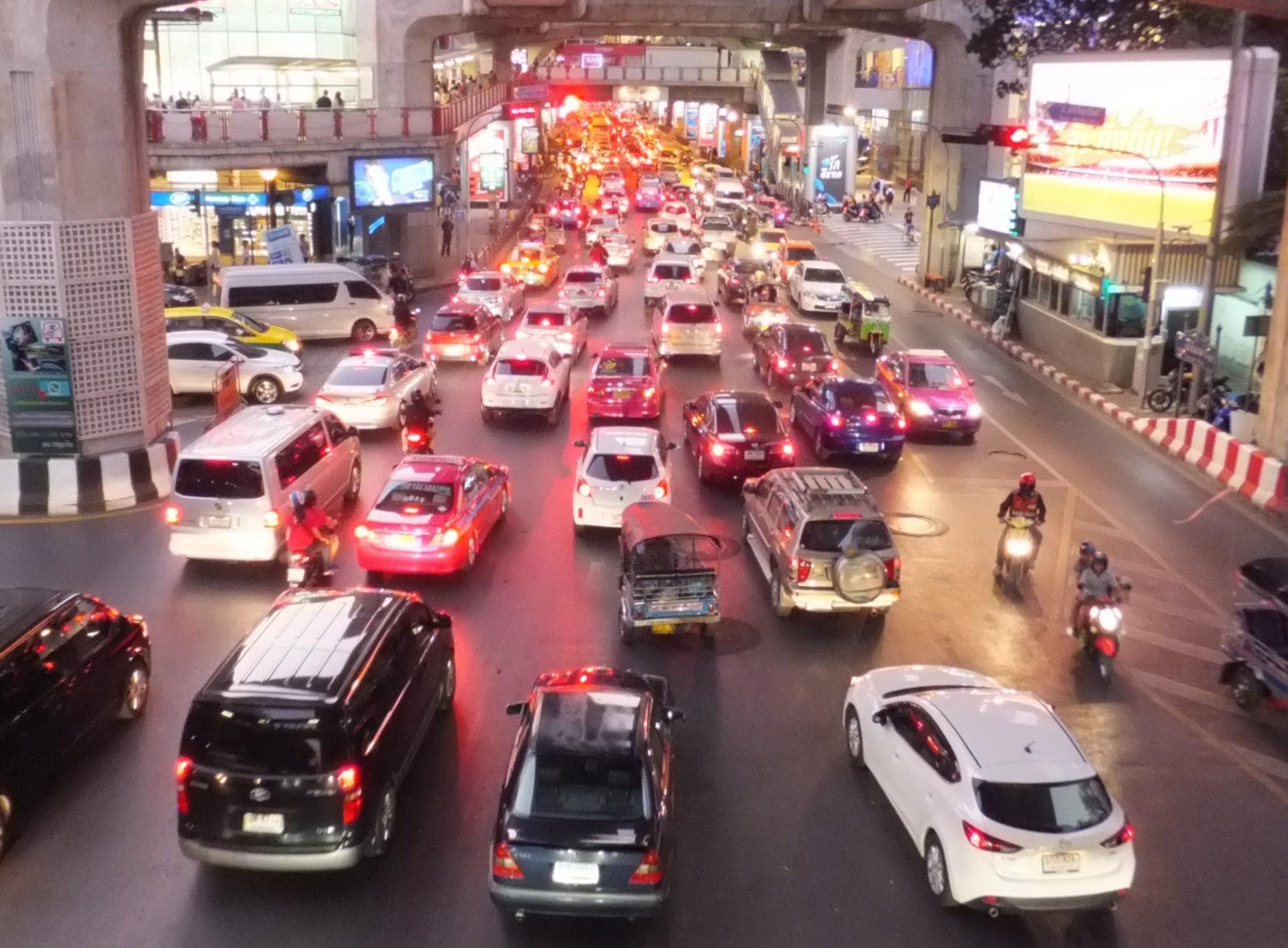 タイ・バンコクの交通課題と物流の今