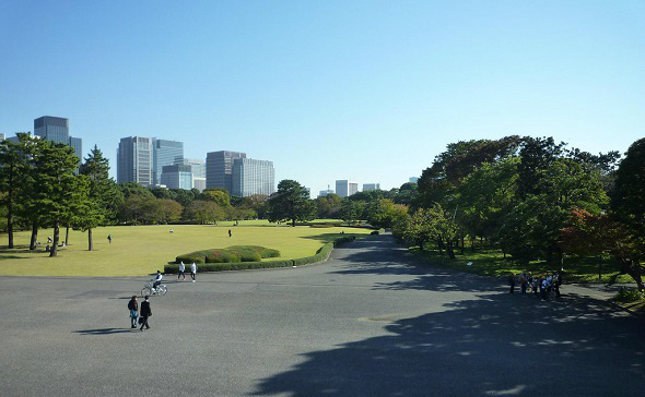 千代田区、皇居