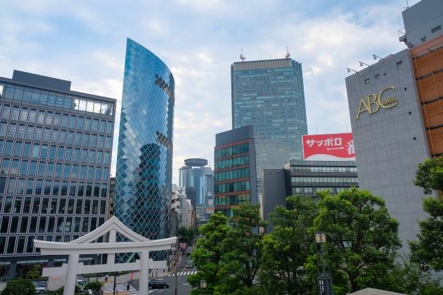 東京 赤坂のビル街