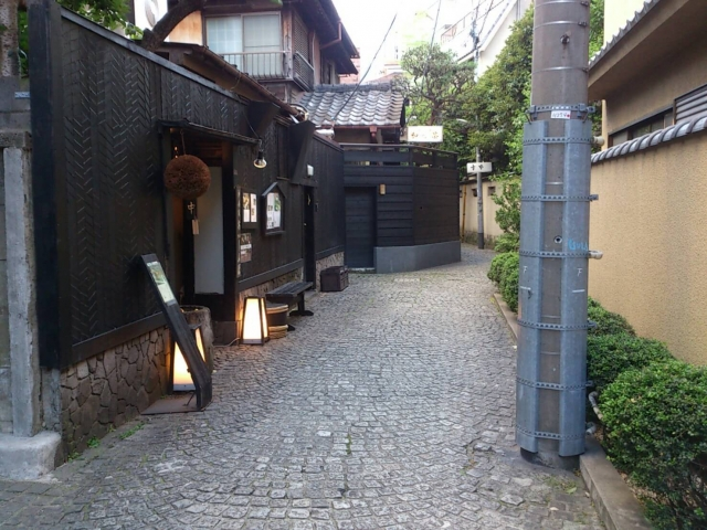 神楽坂の古き良き街並み