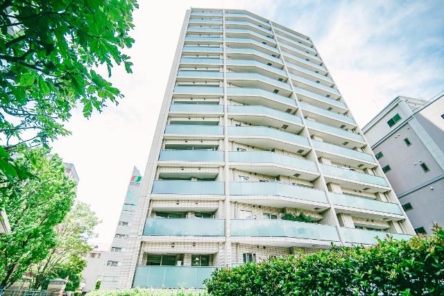 高級タワーマンション シティタワー高輪の外観