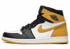JORDAN 1 RETRO HIGH OG YELLOW OCHRE