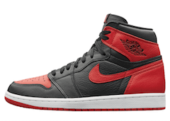 JORDAN 1 RETRO HOMAGE TO HOME