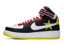 "RICCARDO TISCI × NIKELAB AIR FORCE 1 HI ""VICTORIOUS MINOTAURS 2ND"" BLACK WHITE"