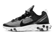 NIKE REACT ELEMENT 87 BLACKの写真
