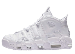 Air More Uptempo Triple Whiteの写真