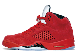Jordan 5 Retro Red Suedeの写真