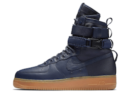 Nike SF Air Force 1 High Navy Gumの写真