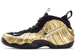 Air Nike Foamposite Pro Metallic Goldの写真