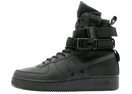 Nike SF Air Force 1 High Triple Blackの写真