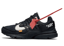 OFF-WHITE × NIKE AIR PRESTO BLACK/WHITE CONE (2018)の写真
