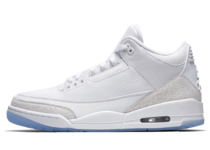 NIKE AIR JORDAN 3 RETRO WHITE WHITE-WHITEの写真