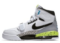 JUST DON × NIKE AIR JORDAN LEGACY 312 WHITE/BLACK-VOLT-VIVID BLUEの写真