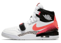 JUST DON × NIKE AIR JORDAN LEGACY 312 WHITE/HOT LAVA-BLACK-ZEN GREY の写真