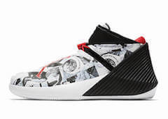JORDAN WHY NOT ZER0.1 EP MIRROR IMAGE