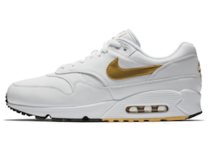 "NIKE AIR MAX 90/1 ""WHITE/METALLIC GOLD"""