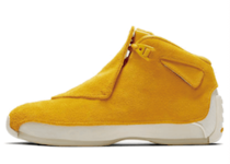 NIKE AIR JORDAN 18 RETRO YELLOW OCHRE