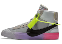 "Nike Blazer Mid Off-White Wolf Grey Serena ""Queen""の写真"