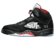 Nike Air Jordan 5 Retro Supreme Blackの写真