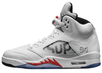 Nike Air Jordan 5 Retro Supreme Whiteの写真