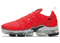 Nike Air Vapormax Plus Bright Crimson White Blackの写真